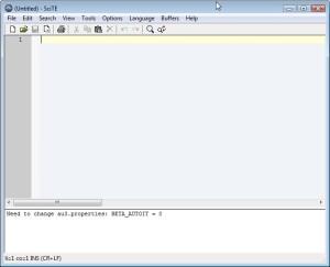 AutoIT Scite-Editor