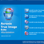 Acronis Installation